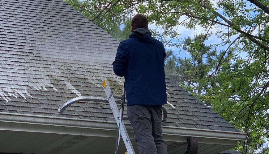 Roof Cleaning North Oaks MN